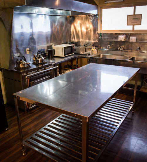 Annupuri oasis lodge kitchen