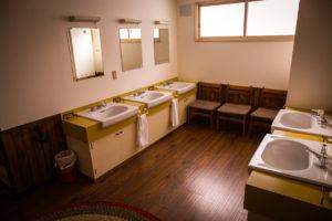 Annupuri oasis lavatory 5 sinks