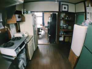 Kutchan appartement kitchen